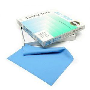 Dique de hule Nic Tone caja con 36 piezas. De venta en Deposito Dentalmex Online