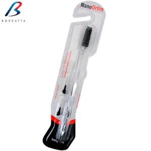 Cepillo Nano Ortho de la marca Borgatta Clinic. Deposito Dental Dentalmex Online