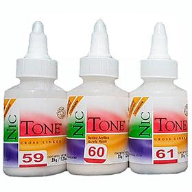 Acrílico en polvo autocurable de uso dental Nic Tone. Deposito Dental Dentalmex Online