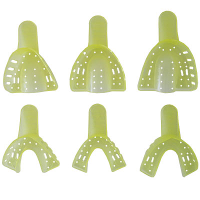 Cucharillas totales plásticas de la marca Anelsam. Deposito Dental Dentalmex Tienda Online