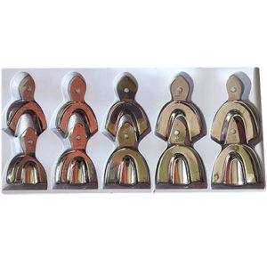 Juego con 10 cucharillas tipo Rim Lock de la marca Arain. Deposito Dental Dentalmex Tienda Online