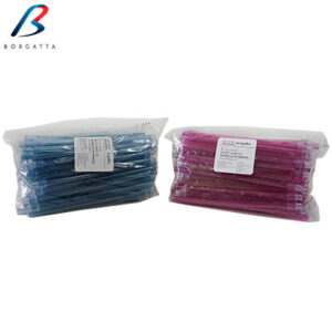 Eyectores de saliva de colores de la marca Borgatta. Deposito Dental Dentalmex Tienda Online