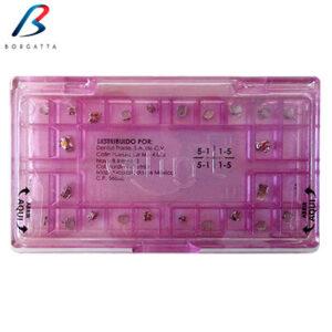 Juego de brackets slot .022 de la marca Glint Borgatta. Deposito Dental Dentalmex Tienda Online