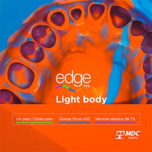 Silicon Edge light body de la marca MDC. Deposito Dental Dentalmex Tienda Online