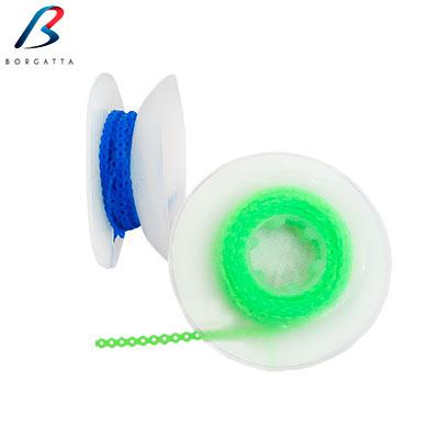 Rollo de cadena elástica mediana de la marca Borgatta. Deposito Dental Dentalmex Online