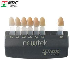 Colorímetro de acrílico newtek de la marca MDC. Deposito Dental Dentalmex Online